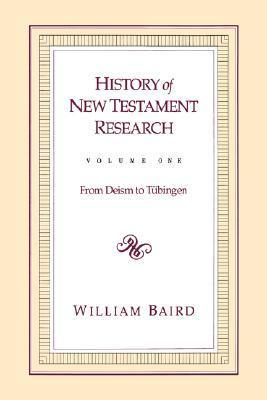 History of New Testament Research  From C