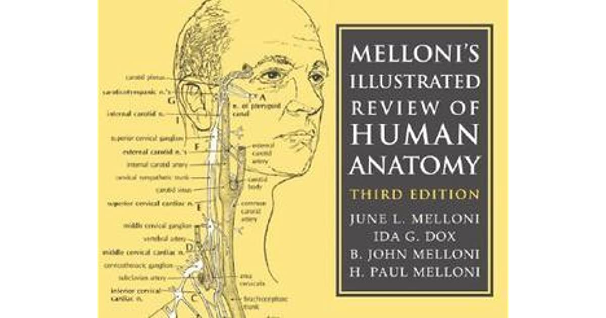 Mellonis Illustrated Review Of Human Anatomy By June L Melloni