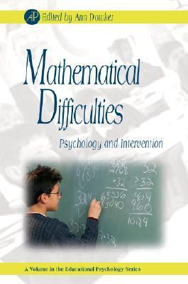 Book cover Mathematical Difficulties  Psychology and Intervention