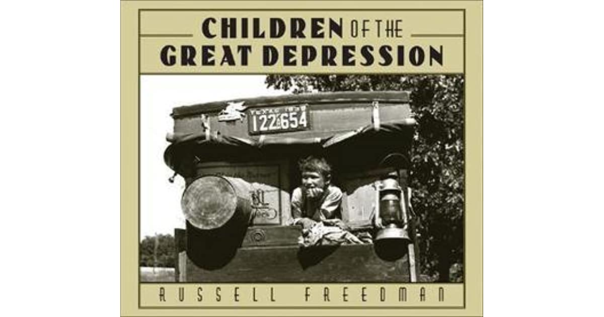 The Great Depression Pictures With Captions