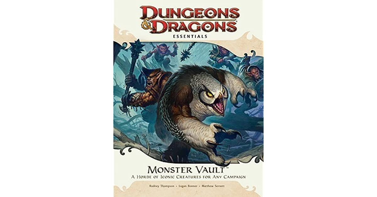Monster Vault: An Essential Dungeons & Dragons Kit by Rodney Thompson