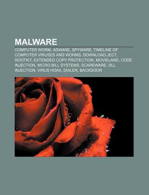 Malware: Computer Worm, Adware, Spyware, Timeline of Computer Viruses and Worms, Download.Ject, Rootkit, Extended Copy Protection, Movieland