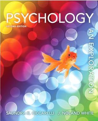 Psychology An Exploration By Saundra K Ciccarelli