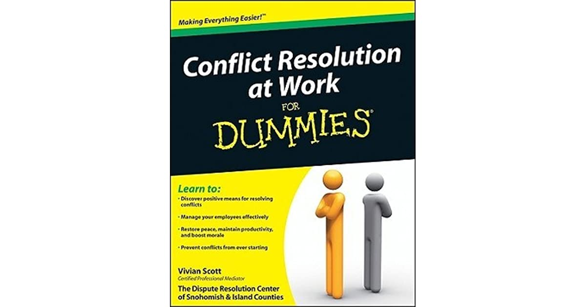 conflict resolution practices
