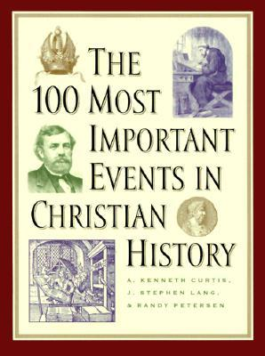 The 100 Most Important Events in Christian History by A. Kenneth Curtis