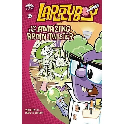 larryboy in the amazing brain twister peterson doug