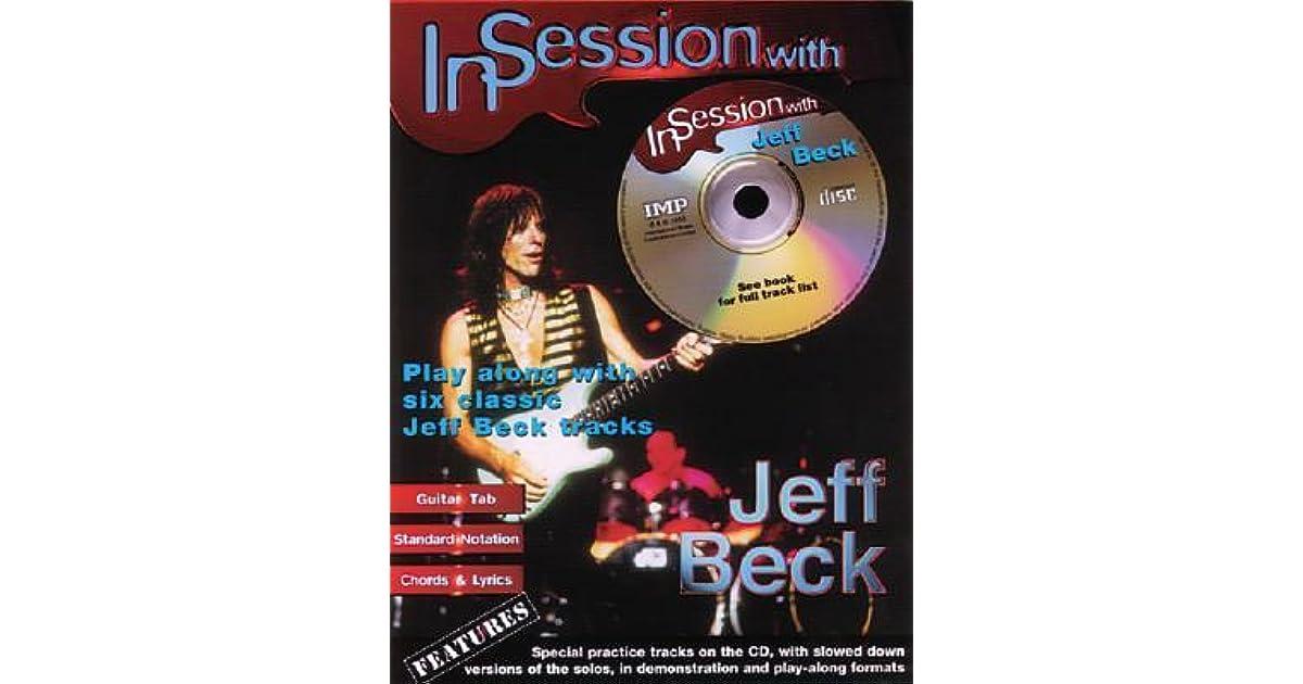 JEFF BECK ROCK GUITAR TABS TABLATURE SONG BOOK SOFTWARE CD