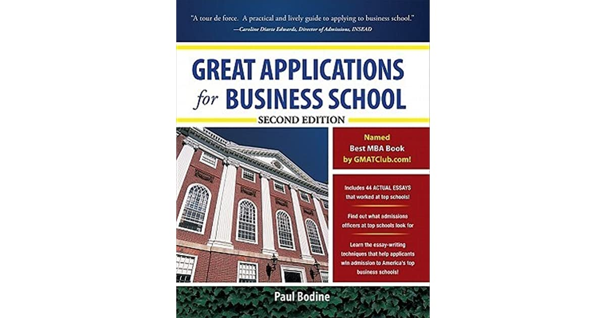 best essays for business school The business school application essays are your chance to demonstrate your unique qualifications for and commitment to a career in business by discussing those experiences, people, and events that infl.