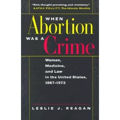 abortion is a crime The publication of donohue and levitt (2001)'s paper on the impact of legalized abortion on the decline of crime in the us has created a wide debate in the literature.