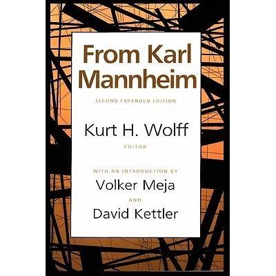 karl mannheim essays on the sociology of culture Essays on the sociology of knowledge by mannheim digitizing sponsor internet archive by mannheim, karl, 1893-1947 wirth, louis.
