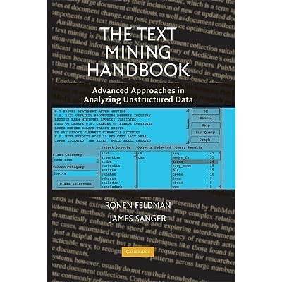 the text mining h andbook feldman ronen sanger james