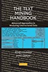 The Text Mining Handbook by Ronen Feldman