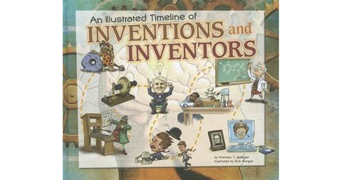 An illustrated timeline of inventions and inventors by kremena spengler fandeluxe Image collections