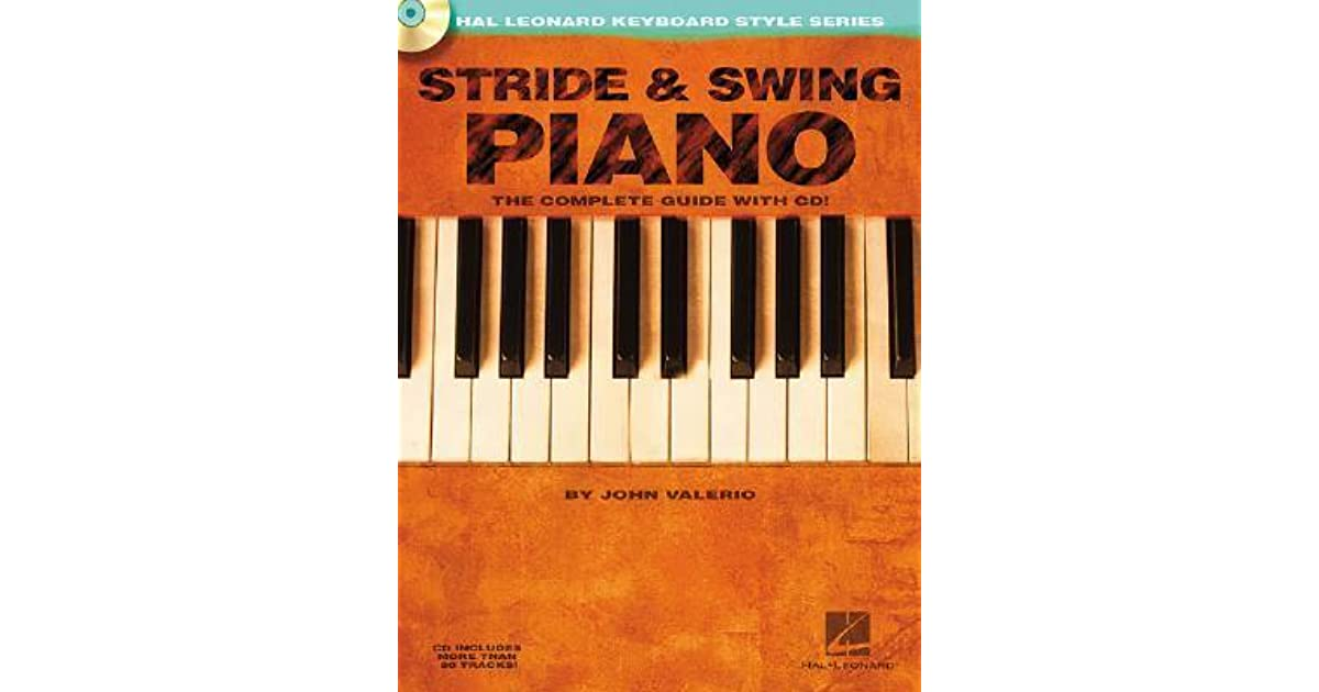 Stride swing piano with cd by john valerio fandeluxe Gallery