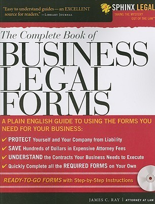 The Complete Book of Business Legal Forms