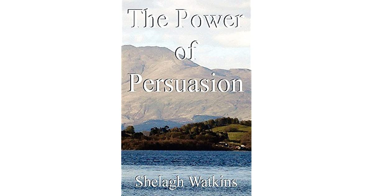 power of persuasion Dr cialdini's books, including influence: science & practice and influence: the psychology of persuasion, are the result of decades of peer-reviewed published research on why.