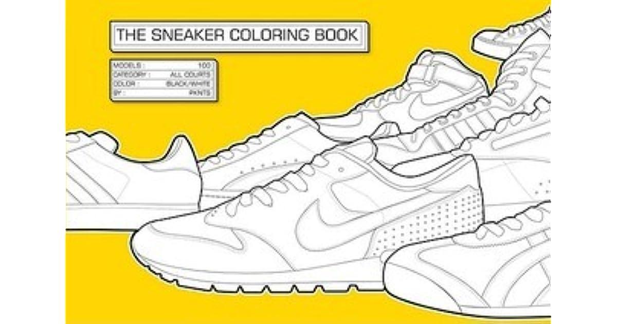 The Sneaker Coloring Book by Henrik Klingel