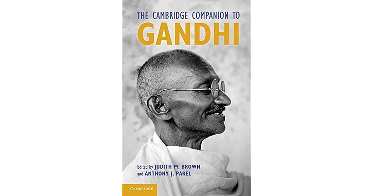 The Cambridge Companion To Gandhi By Judith M Brown
