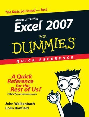 Excel 2007 for Dummies Quick Reference (ISBN - 0470046716)