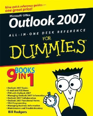 Outlook 2007 All-in-One Desk Reference for Dummies (ISBN - 0470046724)