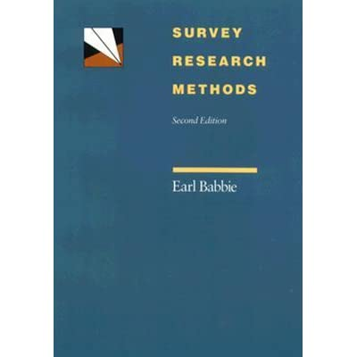 survey methods research To prepare to enter this occupation, students should take courses in research methods, survey methodology, computer science, mathematics, and statistics many also may benefit from taking business courses, such as marketing and consumer behavior, and social science courses, such as psychology, sociology, and economics.