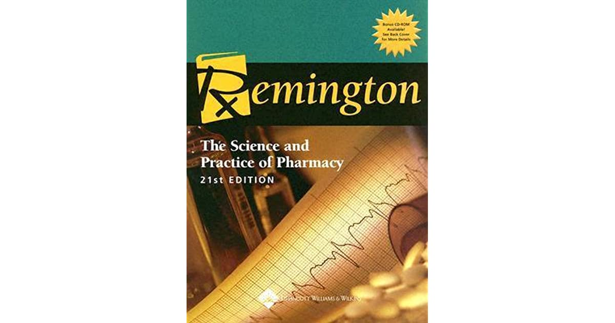 Remington Pharmaceutics Book