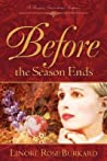 Before the Season Ends (Forsythe, #1)