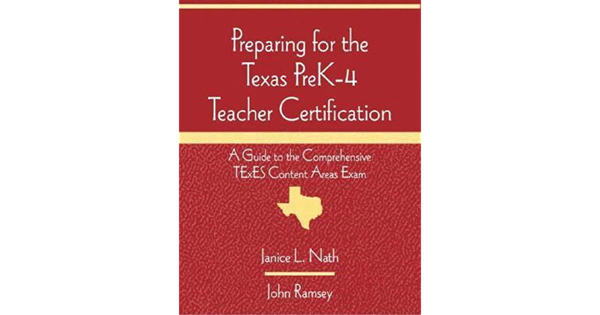 Preparing for the Texas Prek-4 Teacher Certification: A Guide to the ...
