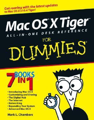 Mac OS X Tiger All-in-One Desk Reference for Dummies (ISBN - 0764576763)