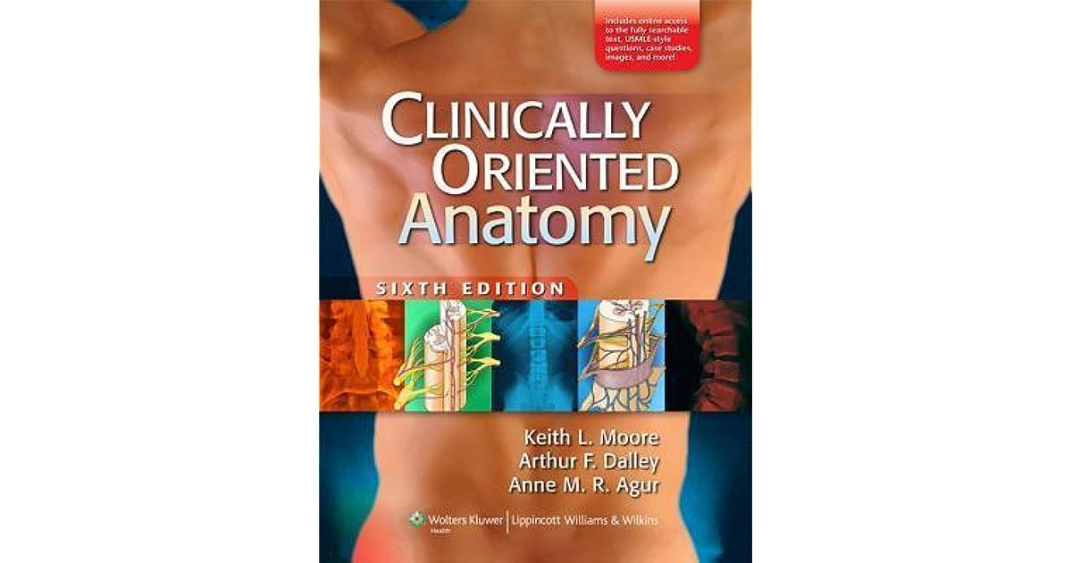 Clinically Oriented Anatomy By Lippincott Williams Wilkins