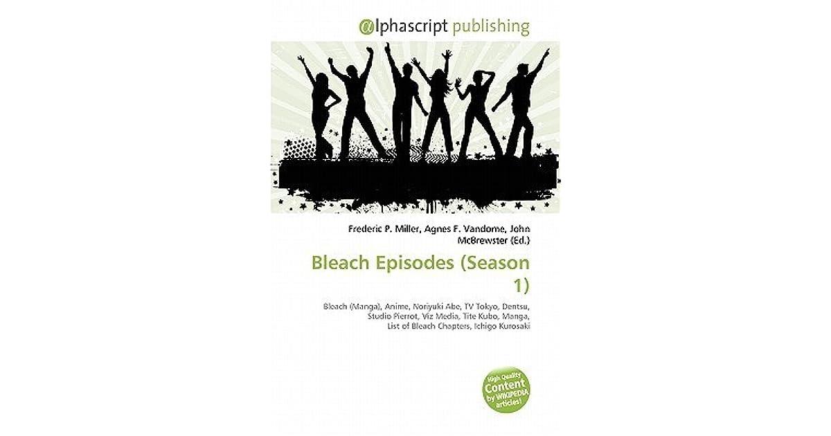Bleach Episodes (Season 1) by Frederic P  Miller