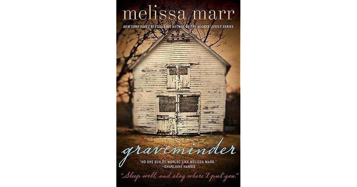 Download Graveminder Graveminder 1 By Melissa Marr