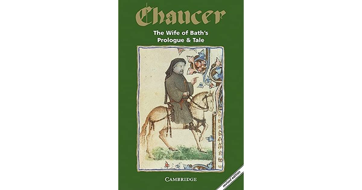 a study of canterbury tales the wife of bath by geoffrey chaucer