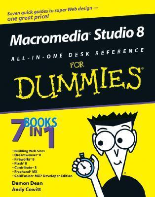 Macromedia Studio 8 All-in-One Desk Reference for Dummies (ISBN - 076459690