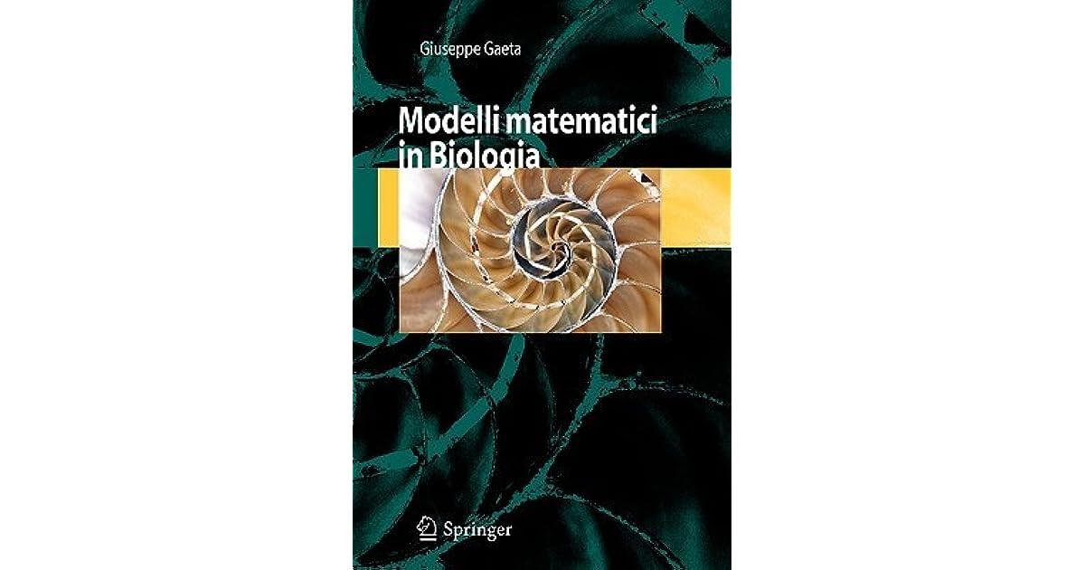 modelli matematici in biologia italian edition