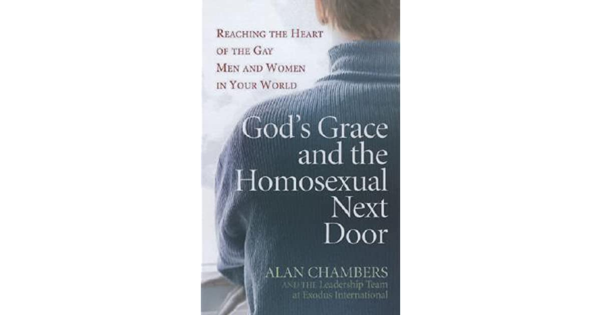 Alan chambers leaving homosexuality book