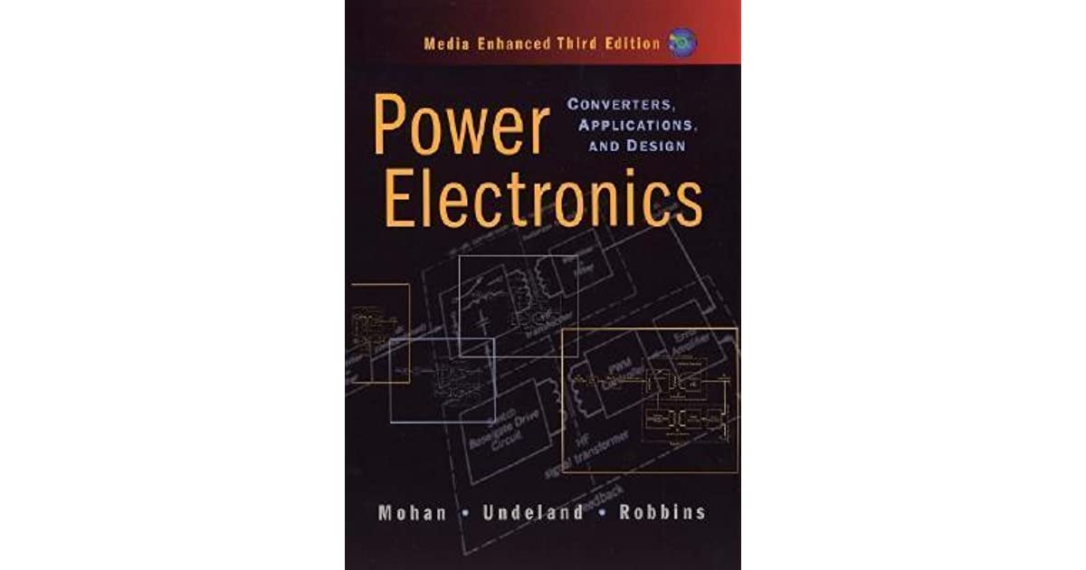 Power Electronics A First Course Ned Mohan Pdf