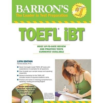 Barrons Toefl 13th Edition Pdf