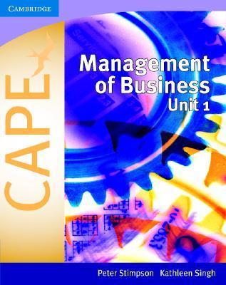 Management of Business for Cape(r) Unit 1