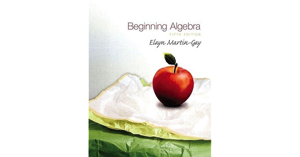 beginning algebra by k elayn martin gay