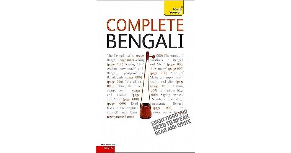 Complete Bengali by William Radice