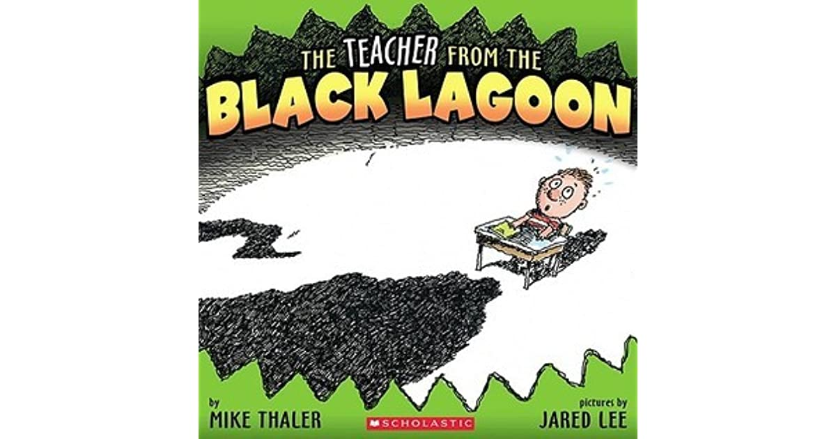 Black Lagoon Book Cover ~ The teacher from black lagoon by mike thaler