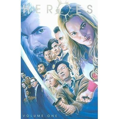 Heroes volumen 1 libro de tapa blanda 1-34 Novela Gráfica Dc Comics TV Series Wildstorm 2008