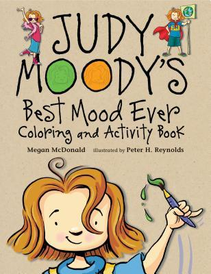 Judy Moody's Best Mood Ever Coloring and Activity Book