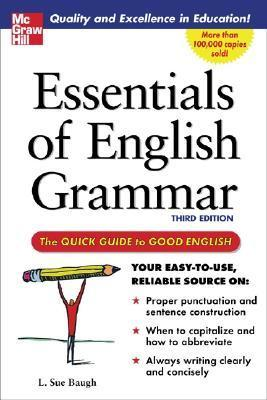 Essentials of English Grammar A Quick Guide To Good English