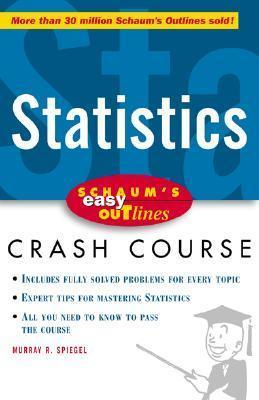 Schaum's Easy Outline statistics
