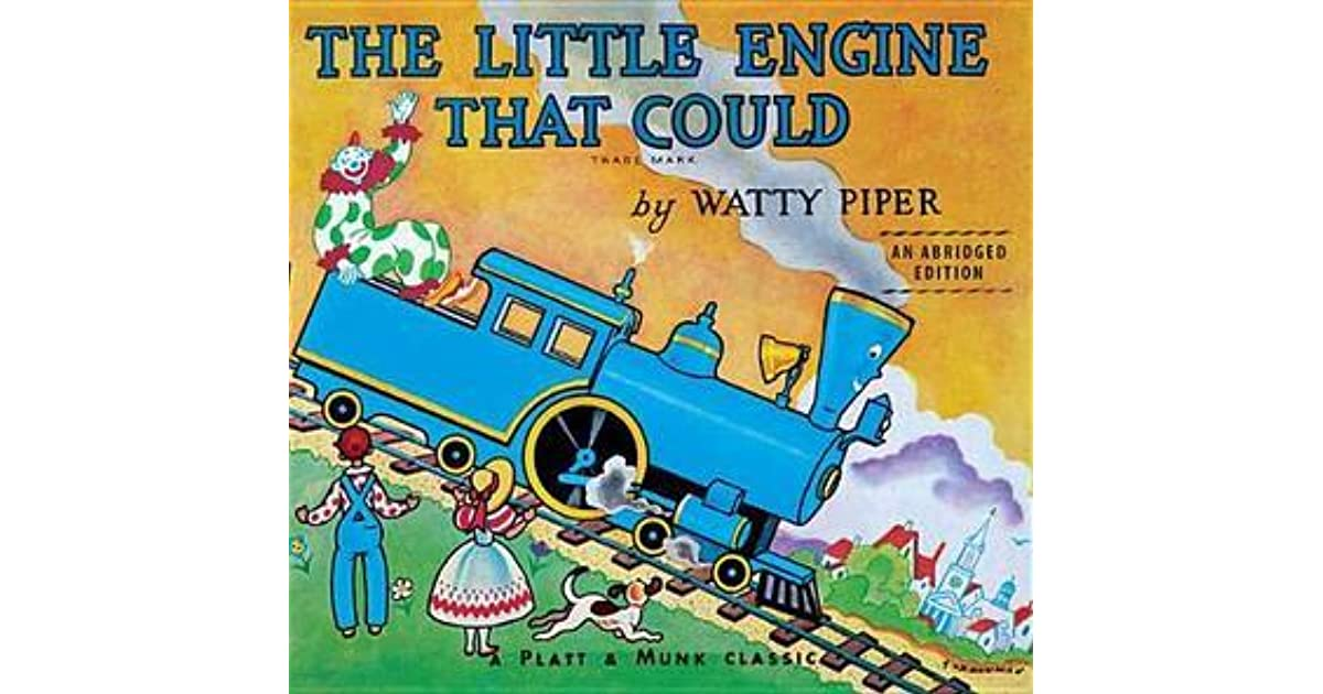 a review of the childhood story about the little engine that could