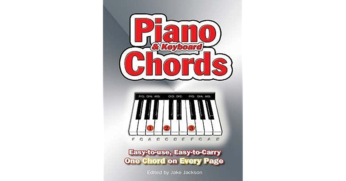 Piano And Keyboard Chords Easy To Use Easy To Carry One Chord On