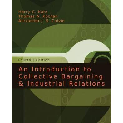 Collective Bargaining Structure and Processes