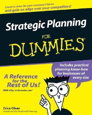 Strategic Planning for Dummies
